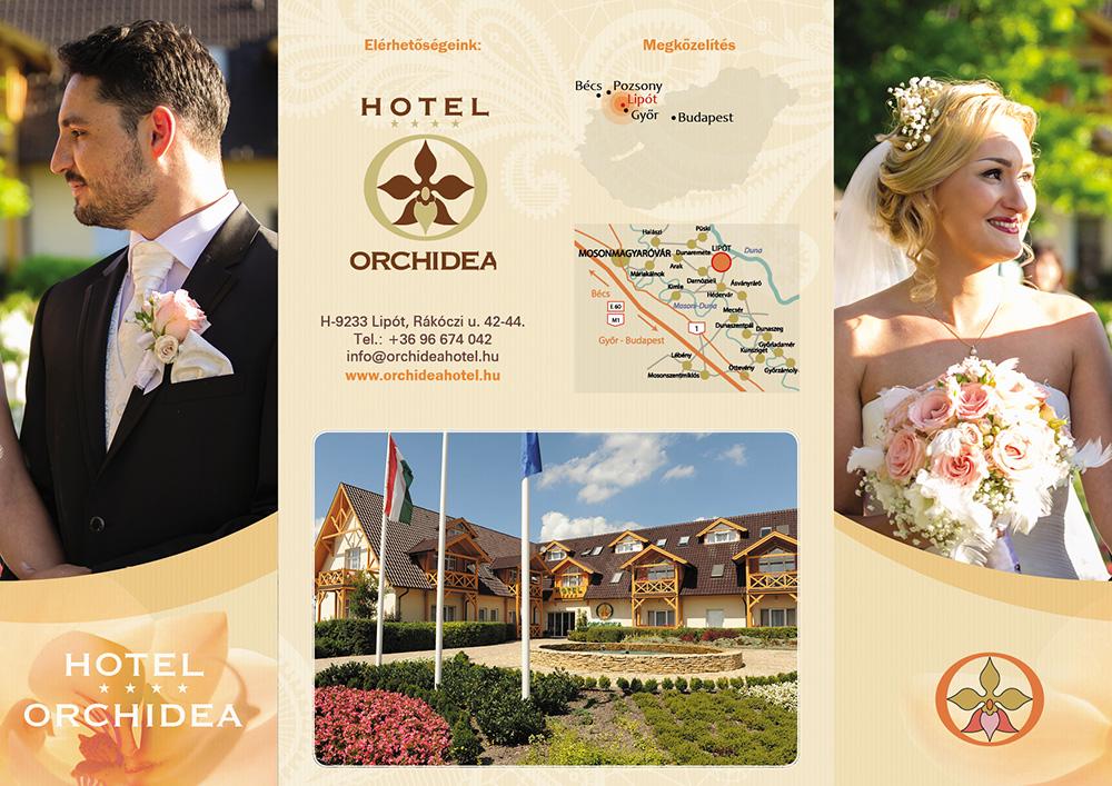 orchidea hotel flyer