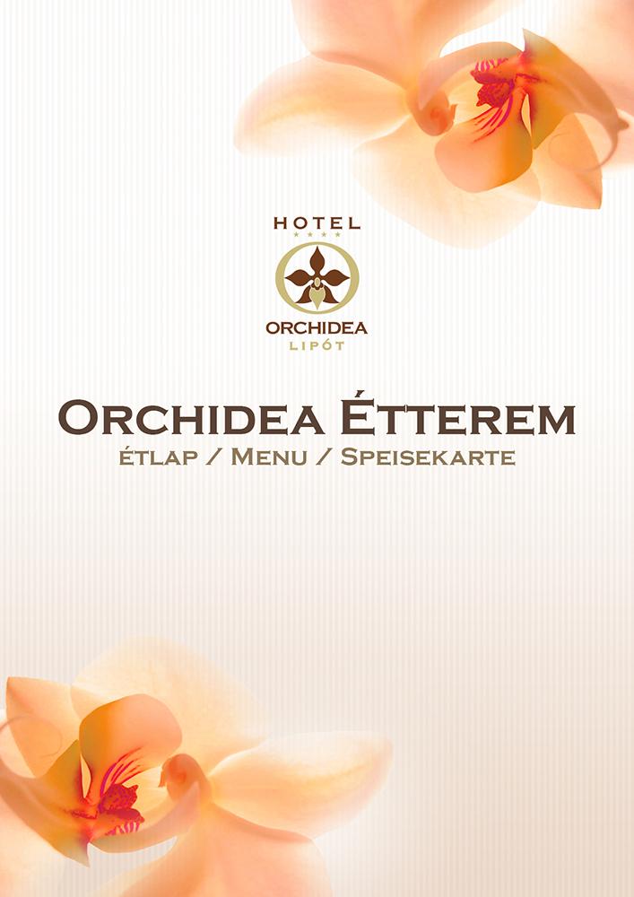 Orchidea hotel étlap