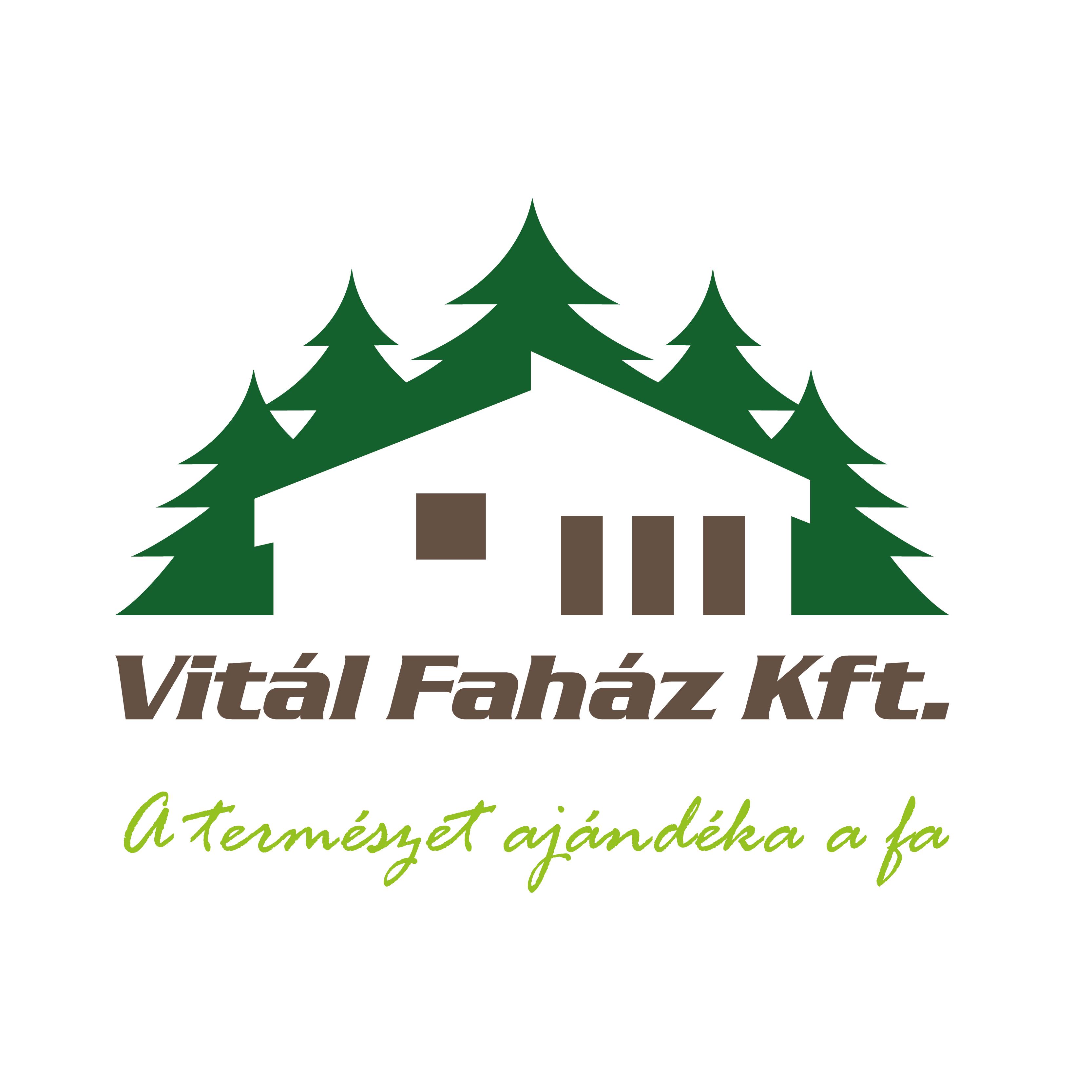 vitál faház logó