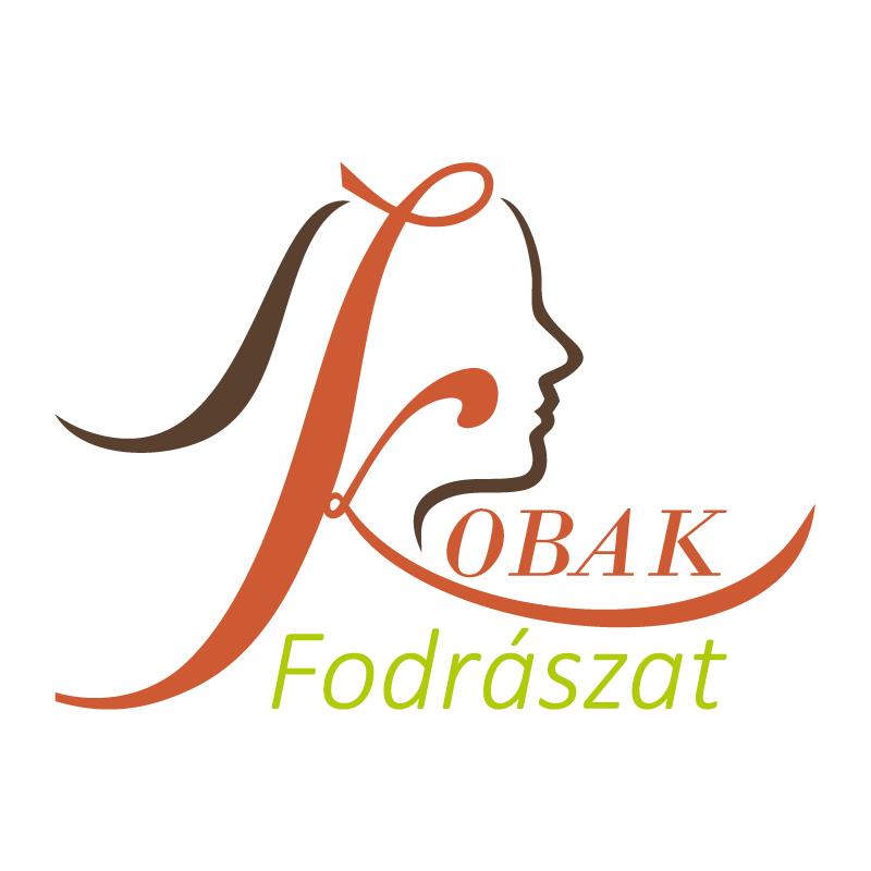 kobak fodrászat logó